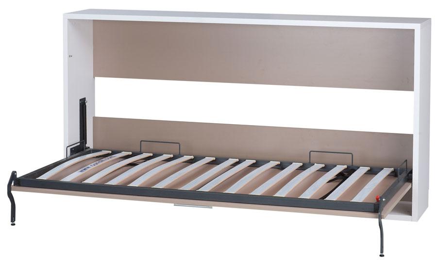 Cama abatible horizontal dormitia - Medidas camas abatibles ...