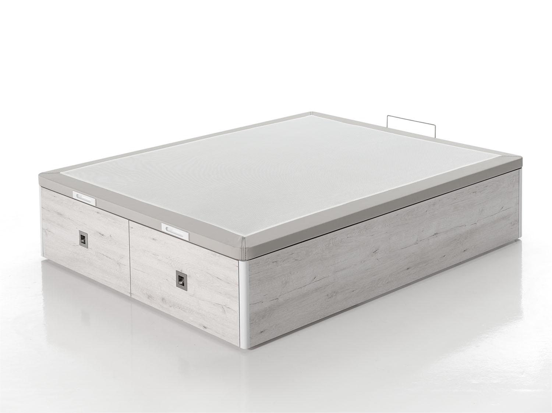 Canap con cajones maxi box dormitia for Canape 180x200