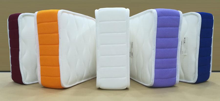 Platabanda colores colchón